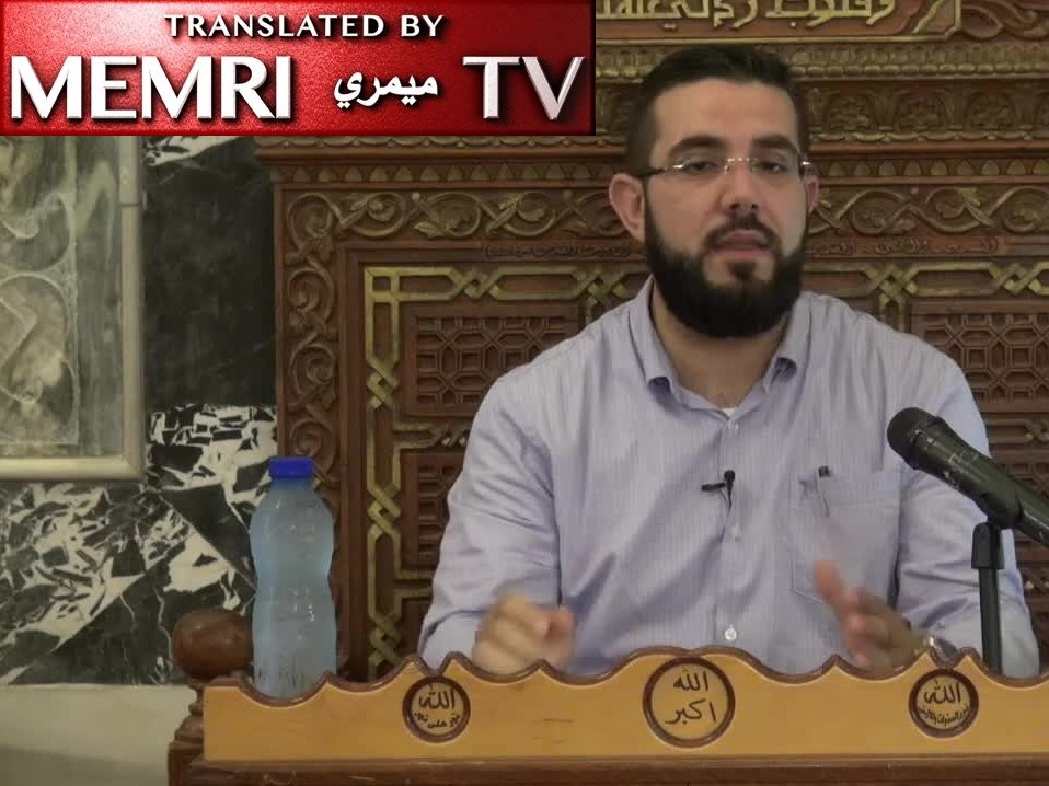 Al-Aqsa Mosque Address by Palestinian Cleric Nidhal  Siam: Women's Rights Slogan